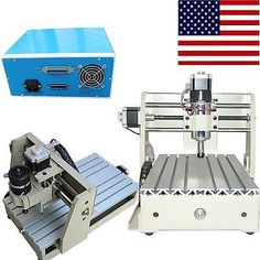 CNC Engraving Router Engraver 3020T Drilling Milling Machine Metalworking USA!