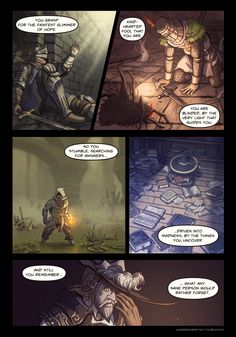 Chestnut / part 3 Dark Souls Comic