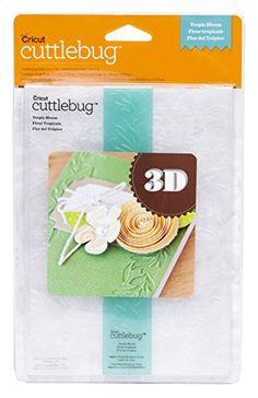 Cricut Cuttlebug 5? x 7? 3D Embossing Folder & Border, Tropic Bloom Review