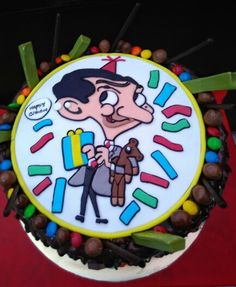 Mr.Bean Chocolate cake.