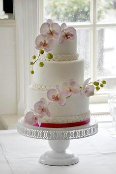 Prachtige bruidstaart ♡