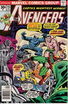 Avengers 155 January 1977 Issue  Marvel Comics  by ViewObscura