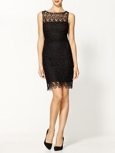 A great update on the LBD - introducing the lace LBD! Lace is a huge trend in both winter 2013 and summer Passion For Fashion, Love Fashion, Lace Dress, Dress Up, Dress To Impress, What To Wear, Evening Dresses, Cute Outfits, Style Inspiration
