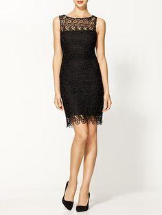 Sheath Lace Dress