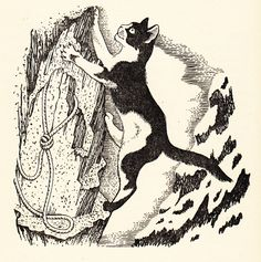 Dogs: A Poem by T. Eliot, with Stunning Vintage Illustrations by Dame Eileen Mayo – Brain Pickings Cat Brain, Cat Vs Dog, 11. September, Illustration Art, Vintage Illustrations, Cat Design, Cool Cats, Cat Art, Illustrators