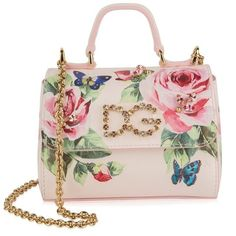 Brighten your child s accessory collection with the iconic rose strap bag  from Dolce and Gabbana. f277be8b22
