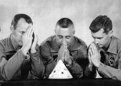 """fuckyeahspaceexploration: """" Timeline The crew of Apollo 1 - Ed White, Chuck Gus Grissom, Roger Chaffee - expressed their concerns with the safety of the Command Module (CM), in particular,. Easy Listening, Space Disasters, Gus Grissom, Apollo Space Program, Apollo Missions, Nasa Missions, Nasa History, Nasa Astronauts, Space Race"""