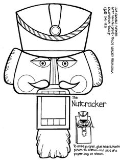 Pair with The Faceless Nutcracker or Nutcracker vs. Nutcracker written by Elizabeth Lee Sorrell illustrated by Sandra JS Coleman Preschool Christmas, Christmas Activities, Christmas Projects, Christmas Themes, Holiday Crafts, Christmas Holidays, Nutcracker Crafts, Nutcracker Christmas, Christmas Music