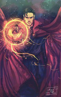 Doctor Strange by Luciferys on DeviantArt Marvel Doctor Strange, Dr Strange, Doctor Stranger Marvel, Heros Comics, Marvel Dc Comics, Marvel Heroes, Marvel Avengers, Nightwing, Batwoman