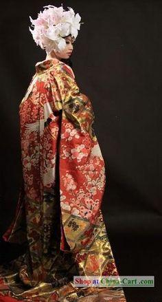 Japanese Princess Wedding Kimono Complete for cosplay
