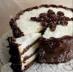 Zdrava Kuhinja: RAJ ZA NEPCE BOLJU TORTU NISAM PROBALA: KOKOS ČOKOLADNA FANTAZIJA
