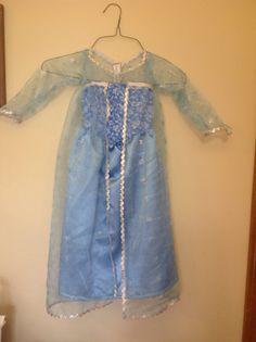 Dress inspired by Disneys Frozen Elsa, size 4