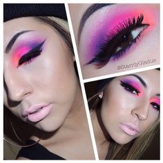 .@Sugarpill Cosmetics | Incredible look by @Starrly Gladue using #Sugarpill Poison Plum eyeshadow and ... | Webstagram