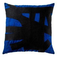 Brushstroke Cushion Cover Cobalt