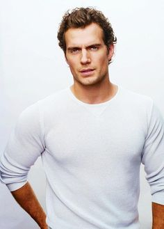 Super Man - Henry Cavill. I may just have to put myself in danger...