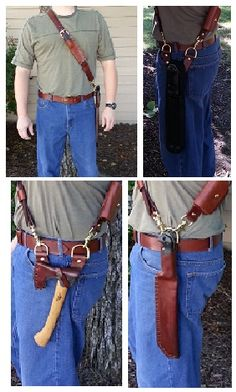 baldric for knives and axes