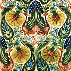 William De Morgan tile panel