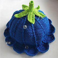 Вязание: шапочка-колокольчик