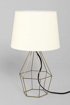 UO Magical Thinking Geo Wire Lamp  //  via @bri emery / designlovefest