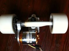 DIY 23mph+ electric skateboard