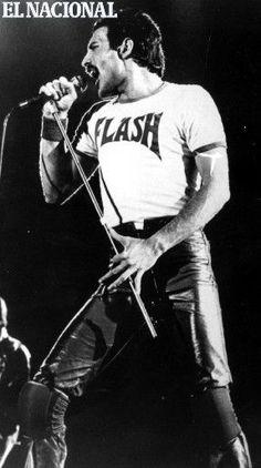 Freddie Mercury, cantante británico. (ARCHIVO EL NACIONAL)