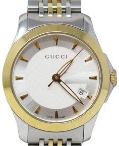 Gucci Watches - Shop designer fashion at Tradesy and save 70% off or more on fashion accessories. Gucci Watches For Men, Rolex Watches, Gucci Accessories, Vintage Gucci, Adjustable Bracelet, Luxury Consignment, Michael Kors Watch, Band, Crystals