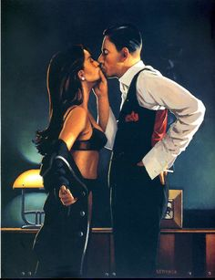 Pincer Movement  |  Jack Vettriano
