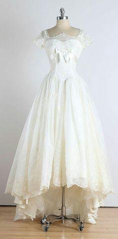 1950 robe de mariée