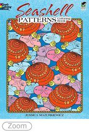 $3.99 Seashell Patterns Coloring book by Jessica Mazurkiewicz