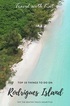 Top 10 things to do on Rodrigues Island in the Indian Ocean. From snorkelling in the crystal clear waters of the coral edge lagoon to ziplining, caving or visiting the giant tortoises, there is plenty to see and do.