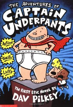 Booktopia has Captain Underpants : Book The Adventures of Captain Underpants by Dav Pilkey. Buy a discounted Paperback of Captain Underpants : Book 1 online from Australia's leading online bookstore. Read Aloud Books, Good Books, Book Series, Book 1, Kids Series, Pdf Book, Captain Underpants Series, Funny Books For Kids, Epic Movie
