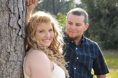 Engagement photos. The way he looks at her. Plus sized. Beautiful. Country. Mary Elena Photography