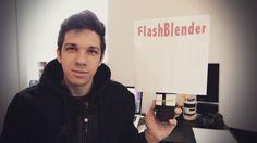 DIY - Como Fazer um Flash Blender por Menos de R$ 5,00