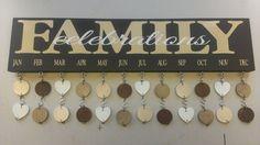 Family Birthday Board by SignChik on Etsy