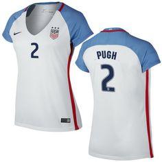 adec50b7ae0 Mallory Pugh Home Women s Jersey 2016 USA Soccer Team Us Soccer