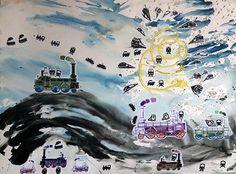 cm, mixed media on paper, 2015 Watercolor Paper, Watercolor Paintings, Original Paintings, Original Art, Paper Artwork, Buy Art, Fields, Saatchi Art, Modern Art