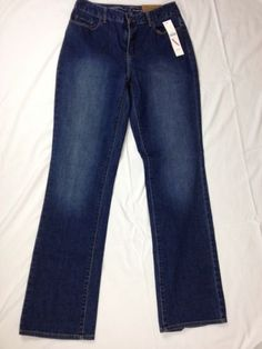 Coldwater-Creek-Natural-Mini-Bootcut-Blue-Size-4-MSRP-69-95-C1-36