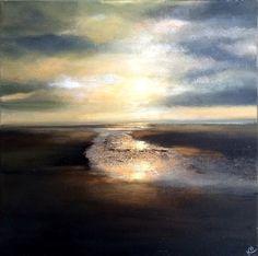 Sweeping Waters, Painting by Kimberley Harris | Artfinder