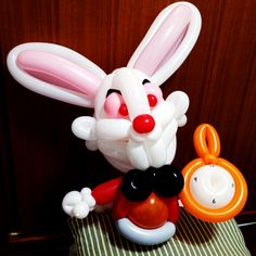 The Rabbit of Alice's Adventures in Wonderland  #balloon#twist#creative