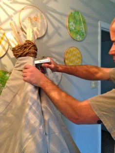 Another Teepee DIY - easy but not foldable.