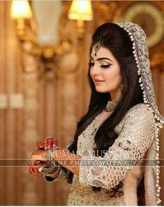 Makeup Art, Hair Makeup, Pakistani Bridal, Wedding Wear, Beautiful Bride, Jewelery, Make Up, How To Wear, Brides