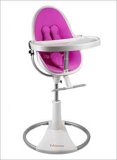 A cool high chair for the future little ones