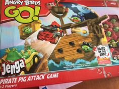New angry birds Go Jenga Game giveaway #sponsored