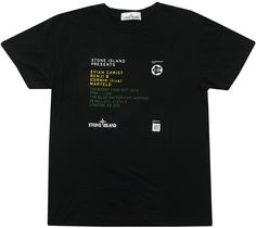 Image of Stone Island Presents T Shirt Size Small