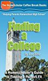 Free Kindle Book -   Finding a College:  A Homeschooler's Guide to Finding a Perfect Fit (The HomeScholar's Coffee Break Book series 8) Check more at http://www.free-kindle-books-4u.com/education-teachingfree-finding-a-college-a-homeschoolers-guide-to-finding-a-perfect-fit-the-homescholars-coffee-break-book-series-8/