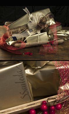 Paneres i regals d´empresa, productes artesanals. Sauleda