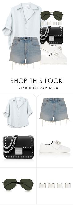 """Untitled #4209"" by lily-tubman ❤ liked on Polyvore featuring Alexander Wang, MICHAEL Michael Kors, ZCD Montréal, Yves Saint Laurent and Maison Margiela"