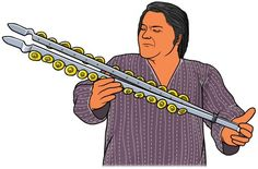 [ Chimta, Chimpta, musical fire tongs ] Indian percussion.