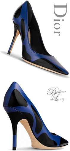 Brilliant Luxury * Dior Pump Fall 2015-16
