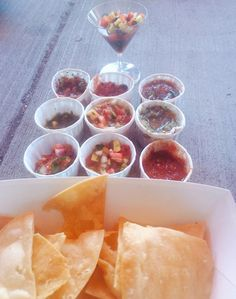 Salsa tasting competition